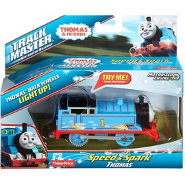 Poze Thomas Trenulet Locomotiva Motorizata Speed And Sparkle Track Master
