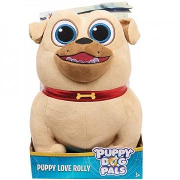 Figurina de plus Rolly 25 cm Puppy Dog Pals - Prietenii Catelusilor Disney Jr.