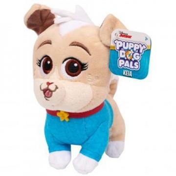 Figurina de plus Keia 15 cm Puppy Dog Pals - Prietenii Catelusilor Disney Jr.