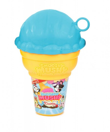 Figurina surpriza in inghetata albastra Smooshy Mushy Creamery