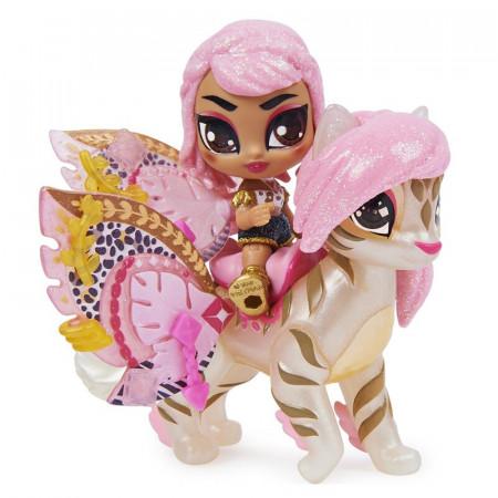 Figurina Hatchimals Pixies Riders Wilder Wings - Rhythm Rachel si Tigrette Glider