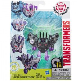 Poze Figurina Robot Mini-Con Lord Doomitron Transformers Robots in Disguise