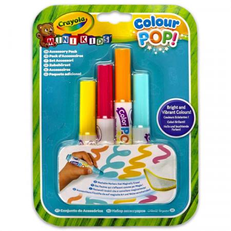 Markere de rezerva pentru covorasul de desen Crayola Colour POP