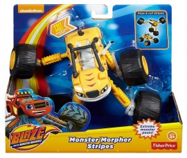 Poze Masinuta Articulata 2 in 1 Stripes - Blaze and the Monster Machines