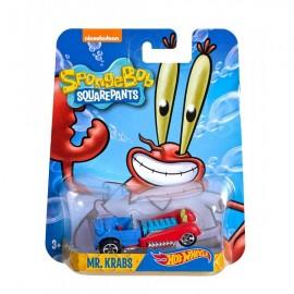 Masinuta Mr. Krabs 1/64 Hot Wheels SpongeBob Pantaloni Patrati
