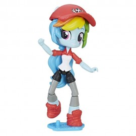 Poze Rainbow Dash figurina articulata My Little Pony Minis Equestria Girls