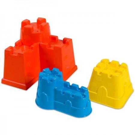 Set 3 forme pentru castele de nisip