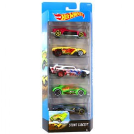 Poze Set 5 masinute 1/64 Hot Wheels - Stunt Circuit