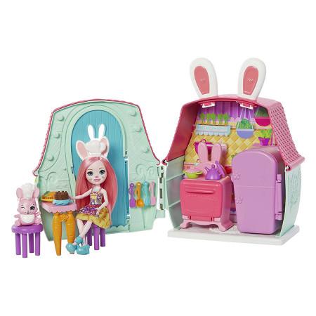 Set de joaca Enchantimals Bree Bunny si casuta