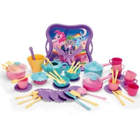 Set vesela de jucarie My Little Pony 60 de bucati Wader