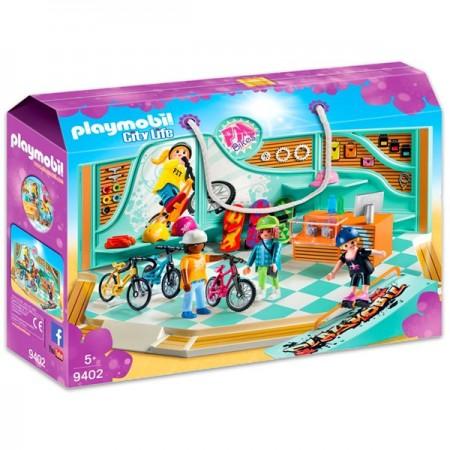 Set de joaca Magazinul de accesorii sportive Playmobil City Life