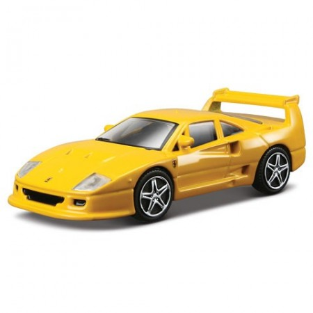 Masinuta Ferrari F40 Competizione Galben 1/43 Bburago