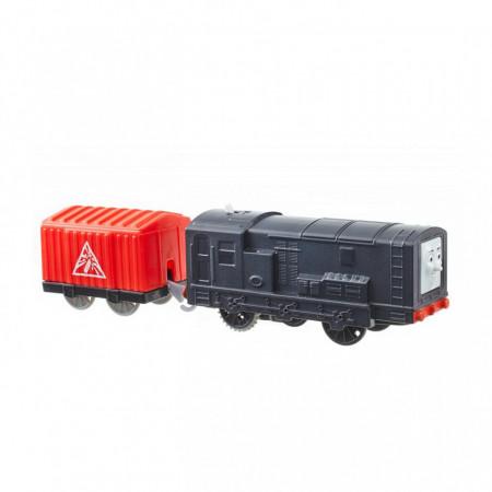 Diesel Trenulet Locomotiva Motorizata cu Vagon Thomas&Friends Track Master