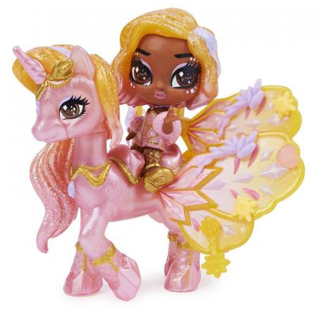 Figurina Hatchimals Pixies Riders Wilder Wings - Starlight Sophie si Unicorn Glider