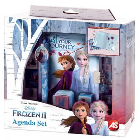 Set creativ cu jurnal secret si stampile Frozen 2