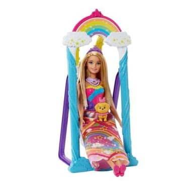 Poze Set de joaca Papusa Barbie si leaganul magic Dreamtopia