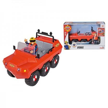 Set de joaca Vehicul Hydrus si figurina Sam Pompierul