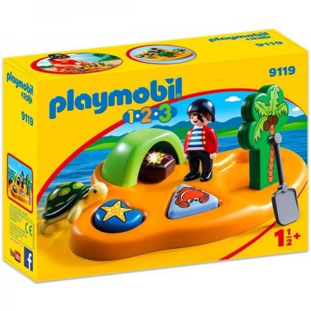 Set de joaca Insula Piratilor Playmobil 1-2-3