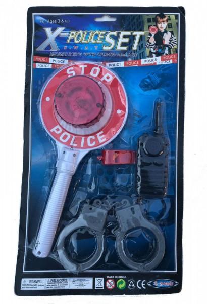 Set accesorii politist X Police Swat