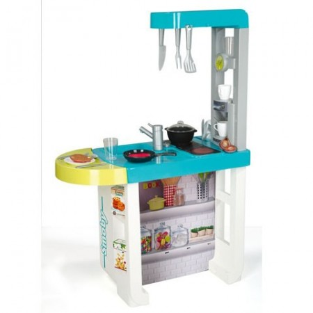Bucatarie Cherry electronica Smoby Toys, AMBALAJ USOR DETERIORAT
