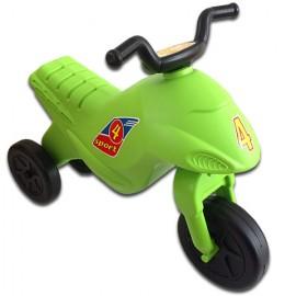 Motocicleta Super Bike Verde fara pedale