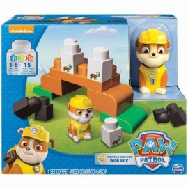 Rubble Set Cuburi de constructie Patrula Catelusilor Junior