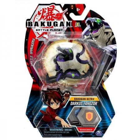 Set Bakugan Ultra figurina Darkus Fangzor