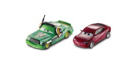Poze Set Chick Hicks si Natalie Certain Cars 3 Disney