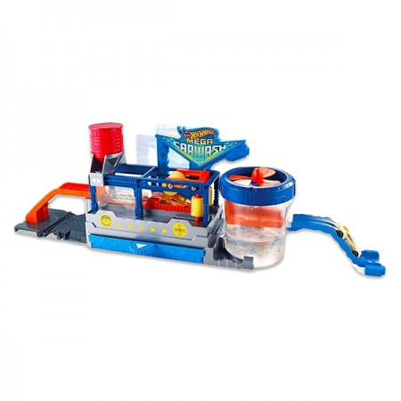 Set de joaca Spalatorie Auto Hot Wheels - Mega Car Wash