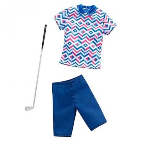 Set Haine Ken golf Barbie