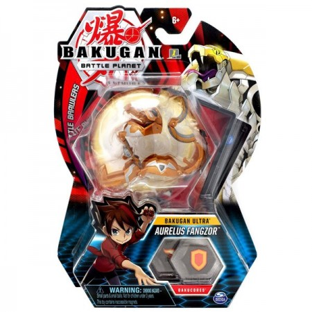 Set Bakugan Ultra figurina Aurelus Fangzor