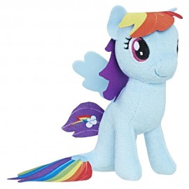 Poze Figurina de plus Rainbow Dash Sirena My Little Pony 13 cm