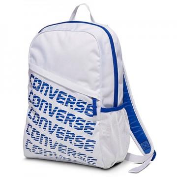 Ghiozdan Speed backpack alb cu albastru Converse