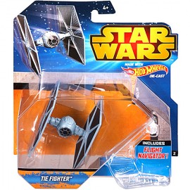 Poze Nava TIE Fighter Albastru 1/64 Hot Wheels Star Wars