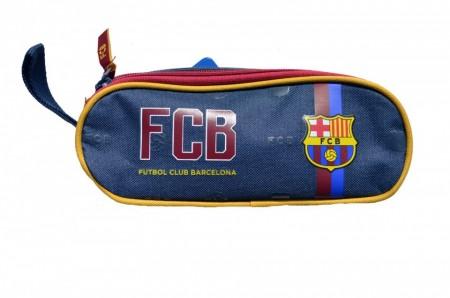 Penar oval neechipat Barcelona cu doua compartimente 21 cm