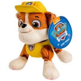 Poze Rubble Figurina de Plus Paw Patrol 20 cm