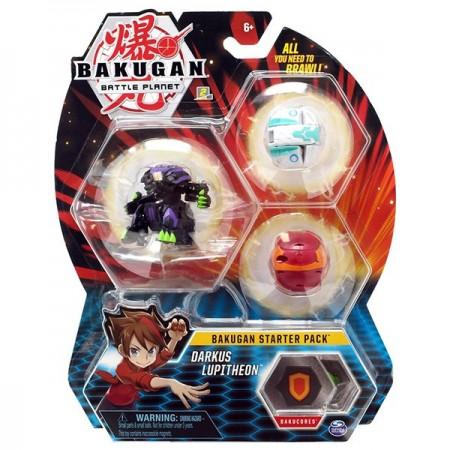 Set Bakugan Start figurina Darkus Lupitheon