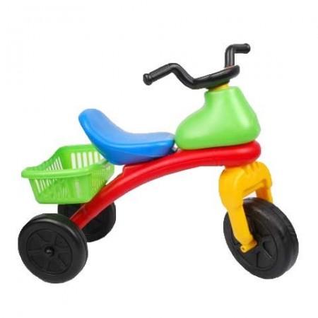 Tricicleta fara pedale cu scaun si cosulet