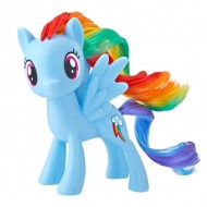 Figurina Rainbow Dash My Little Pony dimensiune 7 cm, in cutie