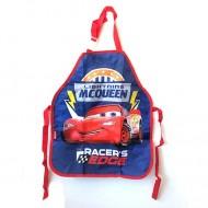 Sort de bucatar rosu cu albastru Fulger McQueen Cars