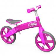 Bicicleta fara pedale roz Yvelo