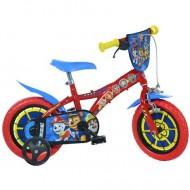 """Bicicleta pentru copii cu roti ajutatoare 12"""" Patrula Catelusilor"""