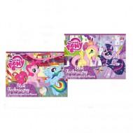 Bloc de Desen A4 cu 10 coli colorate din carton My Little Pony