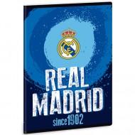 Caiet Matematica FC Real Madrid albastru A5 40 file