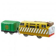 Diesel 10 Locomotiva Motorizata cu vagon Thomas&Friends Track Master