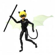 Figurina articulata Motan Noir 12 cm - Miraculous: Buburuza si Motan Noir