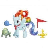 Figurina Articulata Ponei Rainbow Dash cu Accesorii My Little Pony