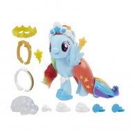 Figurina Rainbow Dash in rochie de sirena My Little Pony:Filmul