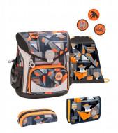 Ghiozdan scoala echipat Belmil Cool Bag - Geometrie salbatica