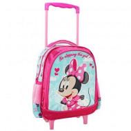 Ghiozdan troler roz Minnie Mouse